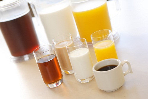 朝食ドリンクサービス